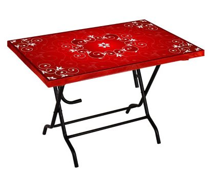 Express Table 6 seated Royal Red