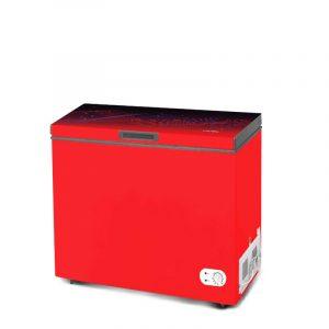 VISION-GD-Chest-Freezer-RE-250L-Magic-Line-Maroon