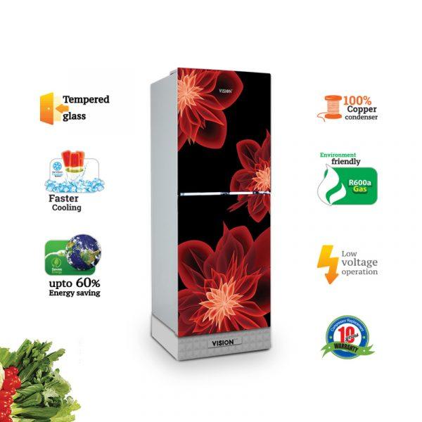 VISION-GD-Refrigerator-RE-150L-Dahlia-Red-TM
